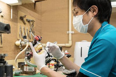 院内歯科技工士